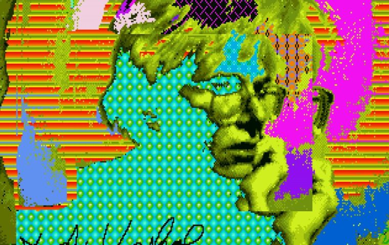 Andy Warhol, Untitled (Self-Portrait) (ca. 1985k, minted as an NFT in 2021).
