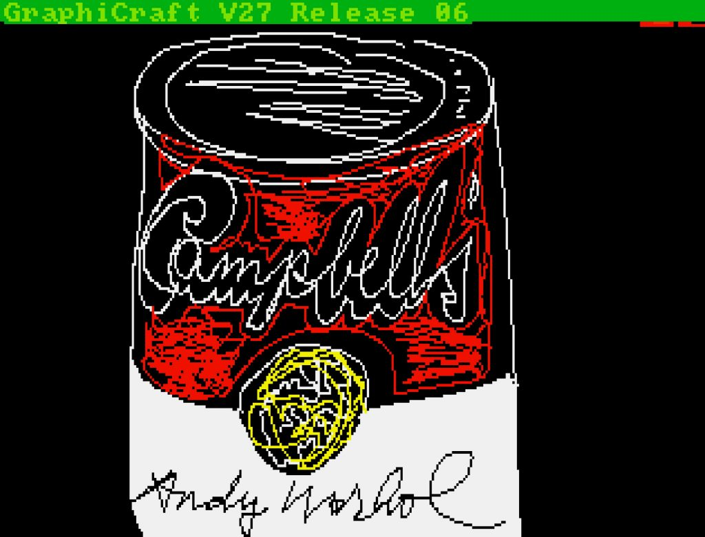 Andy Warhol, Untitled (Campbell's Soup Can) (ca. 1985k, minted as an NFT in 2021). ©The Andy Warhol Foundation. 画像引用:https://news.artnet.com/