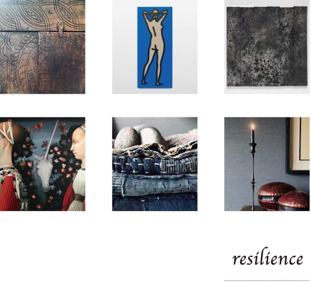 「resilience – Art, antique and objects curated by Kojiro Nagumo」展 MAHO KUBOTA GALLERY のキービジュアル 画像引用:https://www.mahokubota.com/
