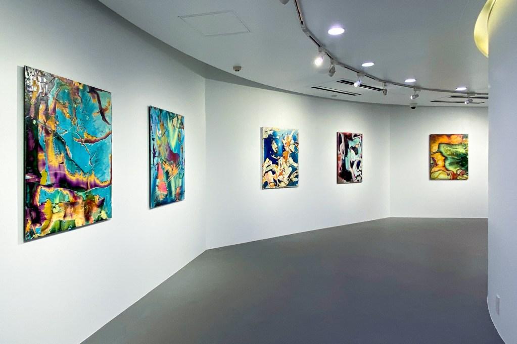 横田大輔個展「Alluvion」展示風景