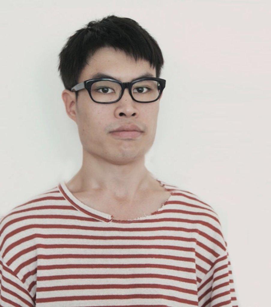 カナダのアーティストMatthew Wong 2015年の写真