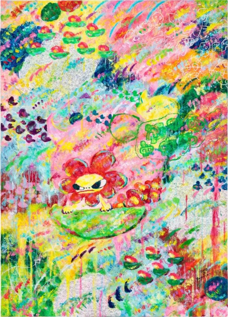 ≪Untitled (無題)≫ / ロッカクアヤコ カラフルな風景